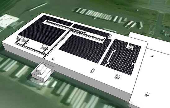 Effective area of photovoltaic system installation
